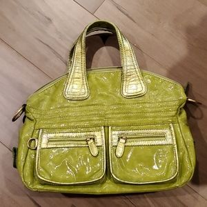 Pistachio green purse